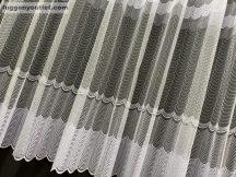 Kesz függöny féher  lancossoros 300 cm szeles 180 cm magas