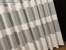 Kesz függöny (Brilantkrem5) krem alapon krem színű 500 cm szeles 300 cm magas