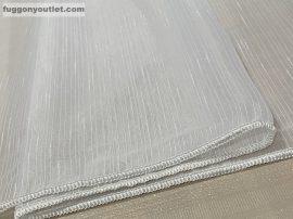 Függöny készre vart ( Celensimafeher4)lenn voal fehér alapon fehér színű 400cm szeles 260 cm magas