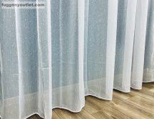 Készre vartt függöny ( Celensimakrem3)hopehely krem szinü 300 cm szeles 260cm magas krem színű