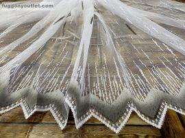 Készre vartt függöny zsakard palcikas szürke színű 300cm szeles 180cm magas